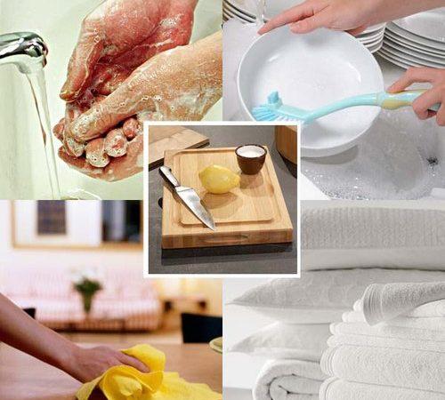 Tổng hợp kinh nghiệm làm sạch nhà bếp cho chị em